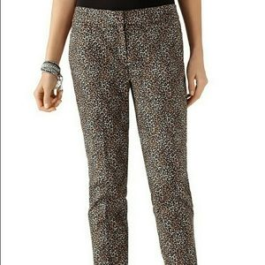 White House/Black Market Cheetah Pant